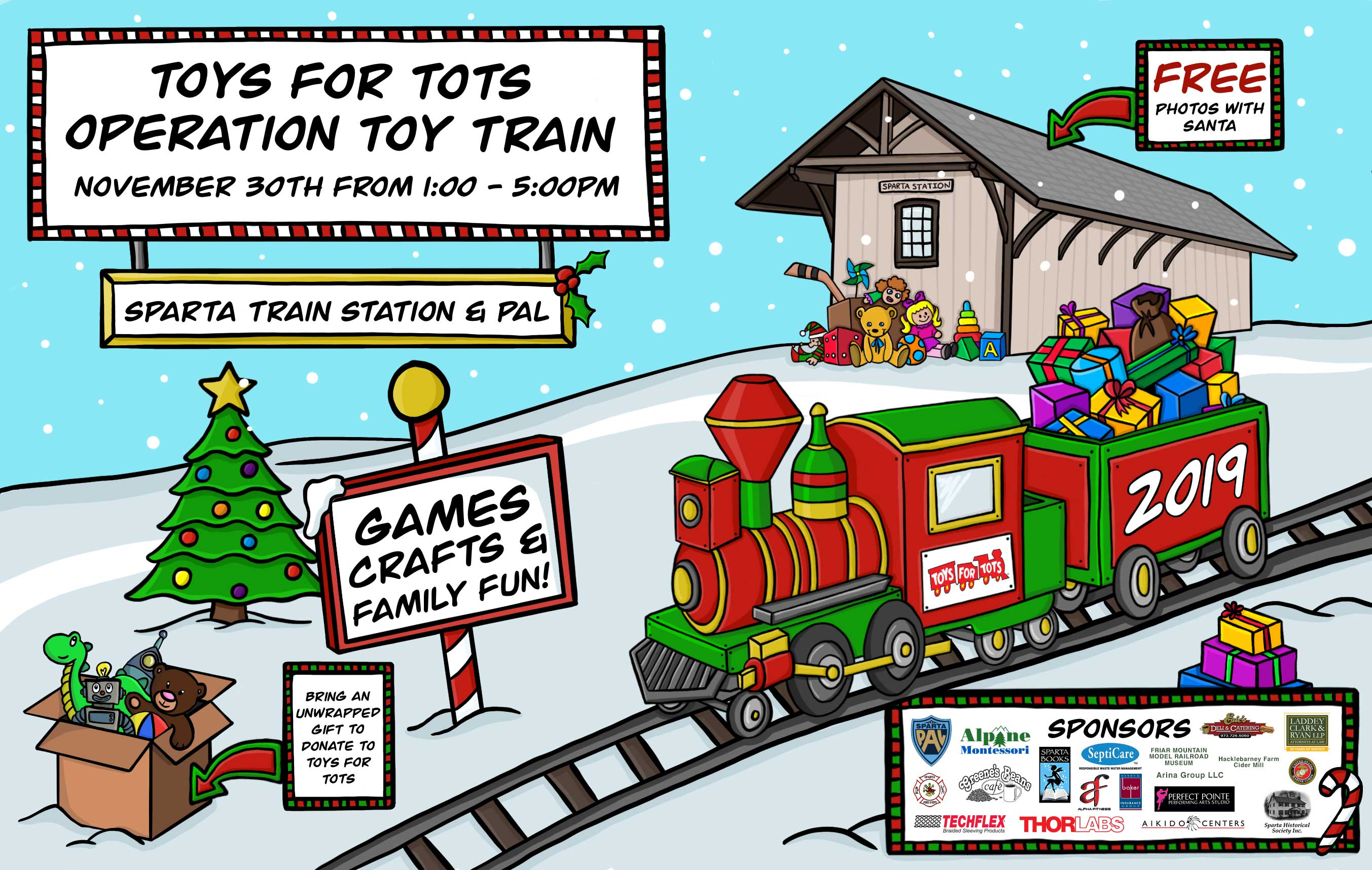 Operation Toy Train 2019