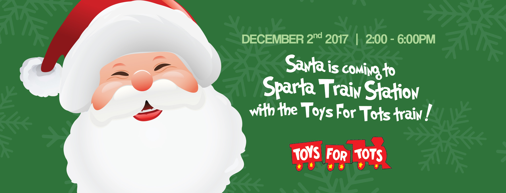 Toys For Tots Introduction : Train creative